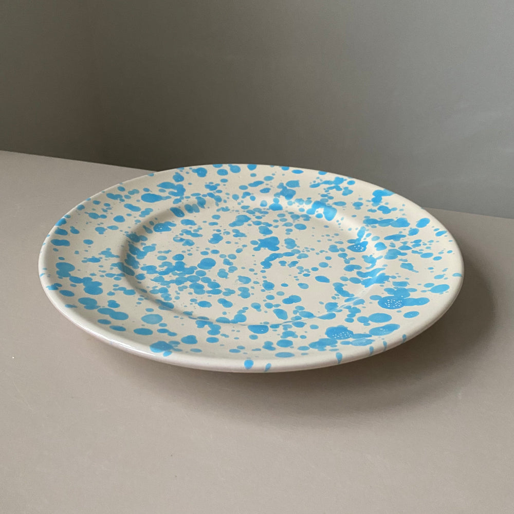 Plate / Light Blue