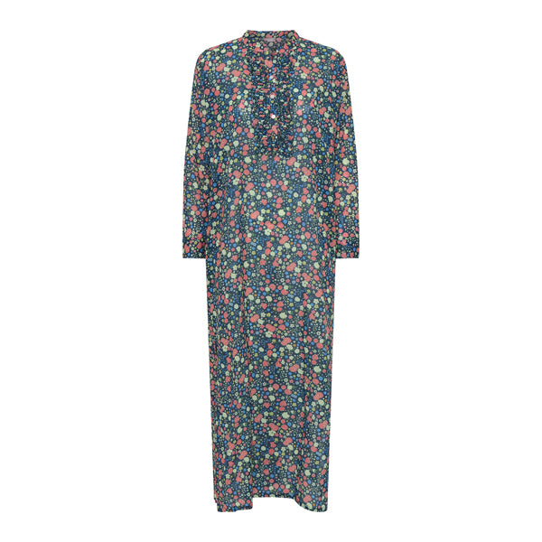 <transcy>Flower Shirt Dress</transcy>
