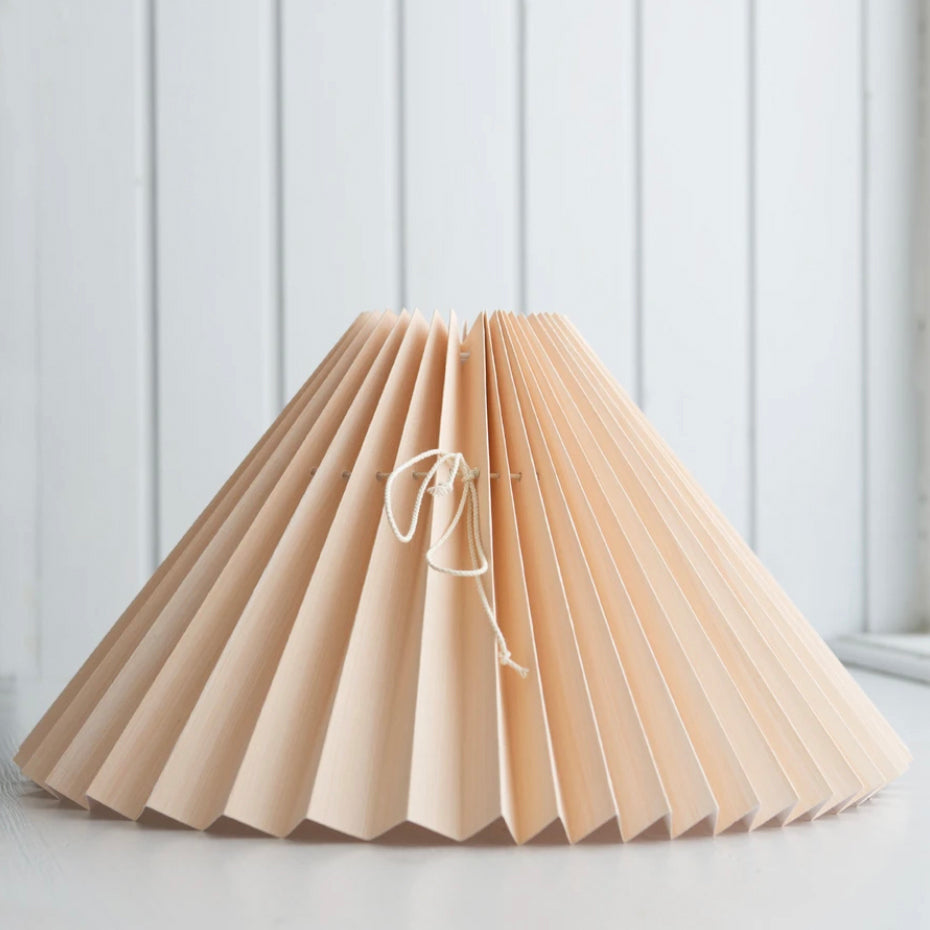 <transcy>Pleated lampshade / Peach</transcy>