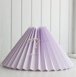 <transcy>Pleated lampshade / Light purple</transcy>