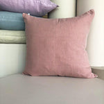 Linen Cushion / Dusty rose