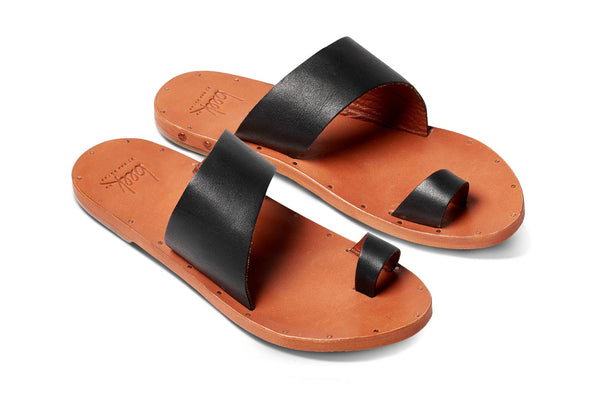 featured image FINCH sandal - Black/Tan - angle view noscript image