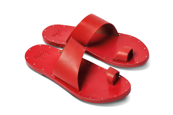 featured image FINCH sandal - Red/Red - angle view noscript image