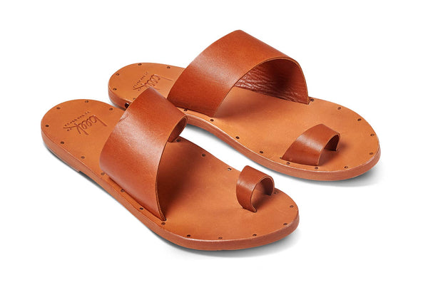 FINCH sandal - Tan/Tan - angle view