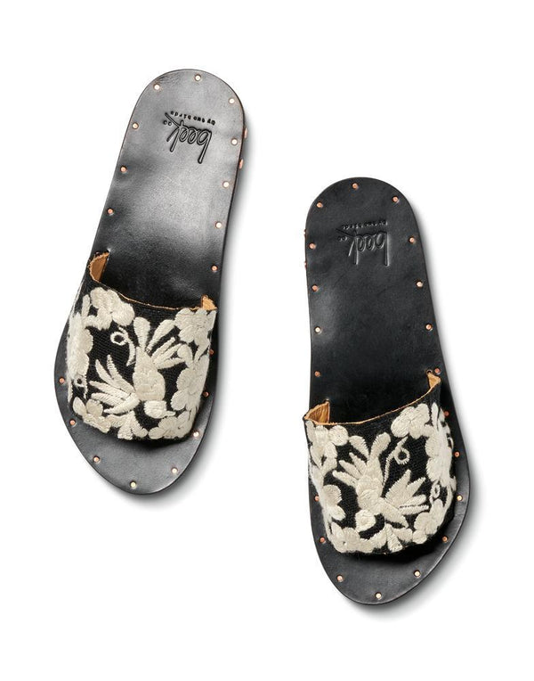LOVEBIRD FLORAL - Black/Natural Floral - beek by two birds