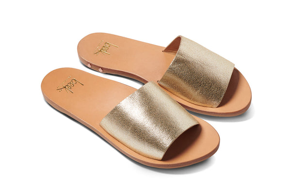 featured image MOCKINGBIRD sandal - Platinum/Honey - angle view noscript image