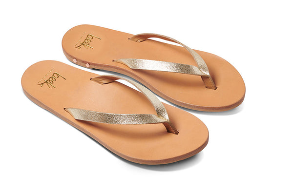 featured image SEABIRD sandal - Platinum/Honey - angle view noscript image