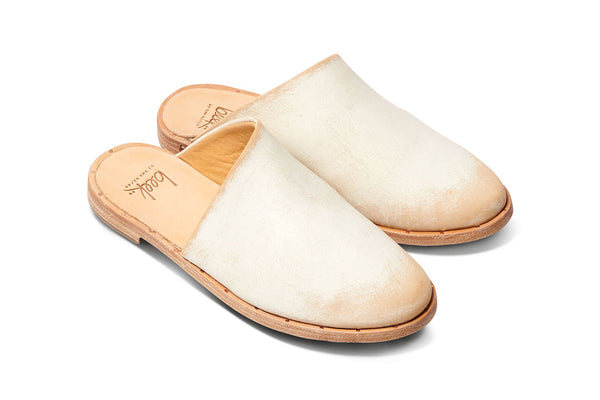 SEAGULL - White Sanded Leather - beek by two birds
