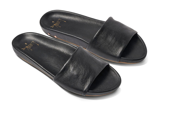 GALLITO sandal - Black - angle view
