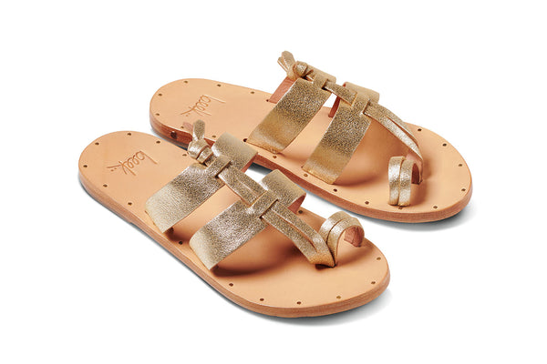 featured image KOKAKO sandal - Platinum/Honey - angle view noscript image