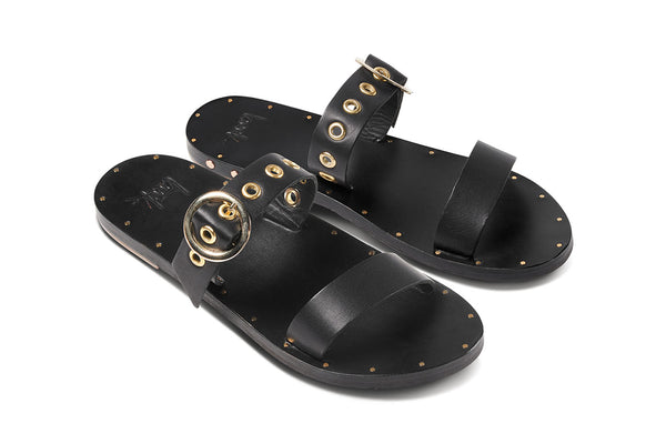 featured image MALEO sandal - Black/Black - angle view noscript image