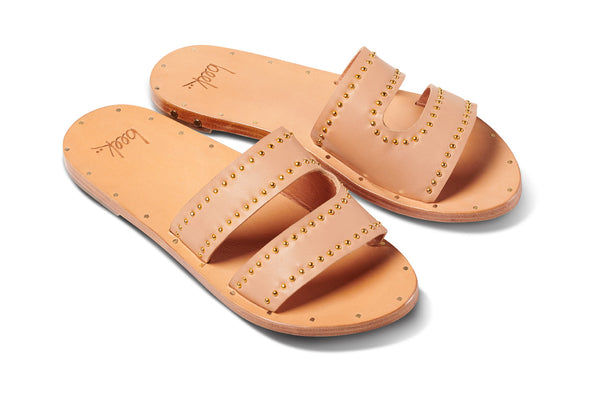 featured image DUNLIN sandal - Honey/Honey - angle shot noscript image