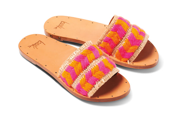 featured image FLAMINGO sandal - Flamingo/Honey - angle view noscript image