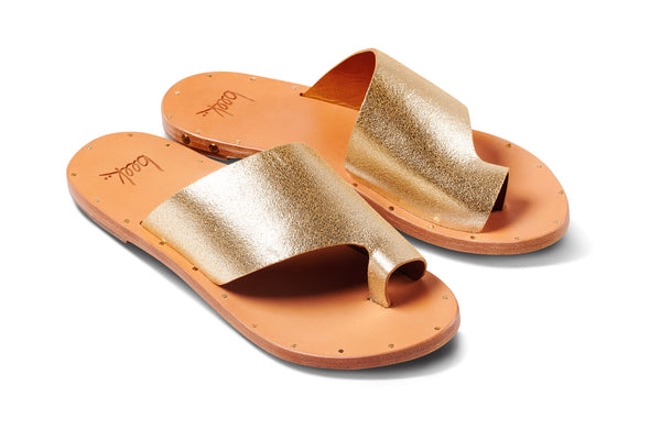 featured image TOUCAN Sandal - Platinum/Honey - angle view noscript image