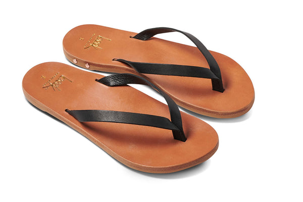 SEABIRD sandal - Black/Tan - angle view