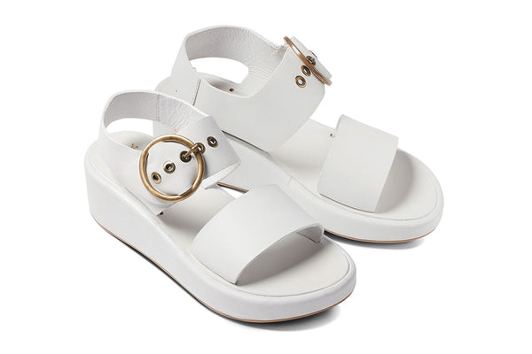 featured image SWAN platform sandal - White - angle view noscript image