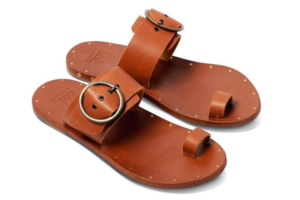 featured image SWIFT sandal - Tan/Tan - angle view noscript image