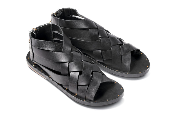 featured image TURACO sandal - Black/Black - angle view noscript image