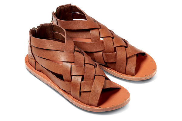 featured image TURACO sandal - Tan/Tan - angle view noscript image