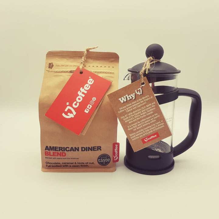 FRENCH PRESS AND FILTER COFFEE GIFT SET