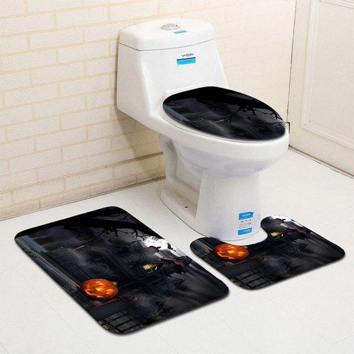 Halloween Night Toilet Seat Cover
