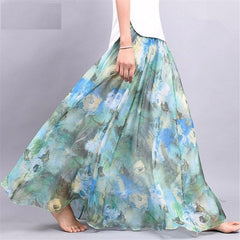 Beach Party Loose Flare Skirt