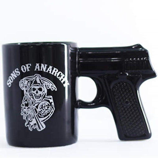 Gun Handle Pistol Mug