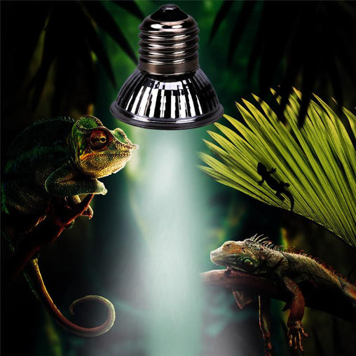 UV LED Reptile Heating Lamp