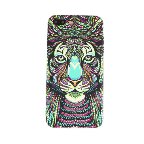 Tiger Painting Phone Case for iPhone