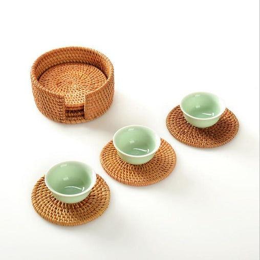 6pcs Japanese Coasters Set