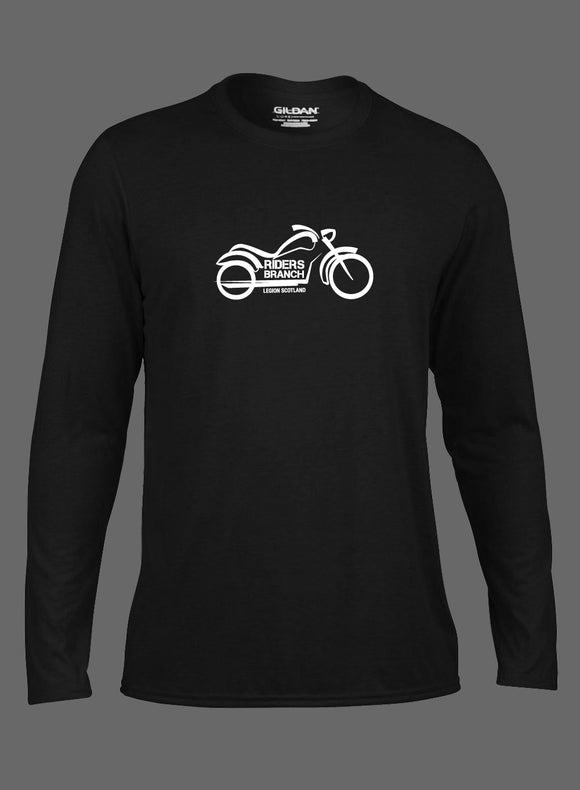 Mens Riders Branch Performance Long Sleeve T-shirt
