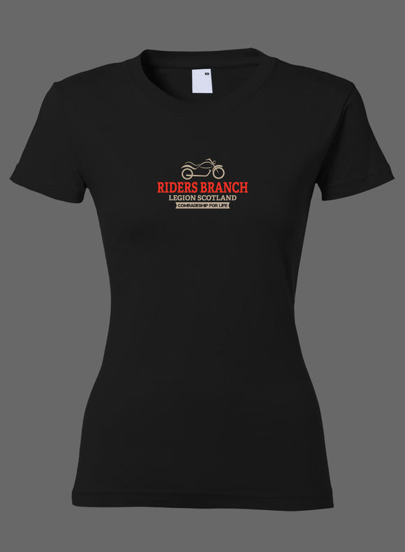 Riders Comrade Ladies Fitted T-Shirt