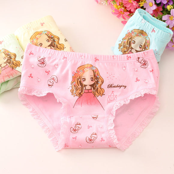 Kids Girl Underwear 4pcs
