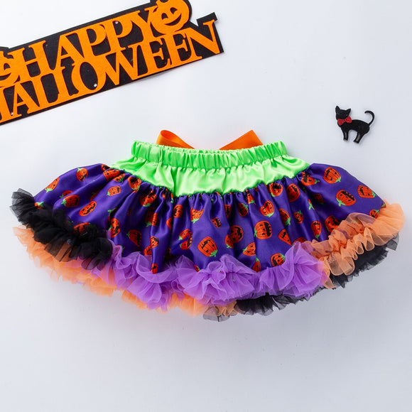 YK&Loving Tulle Skirt Children's Tutu Clothing Halloween children's princess soft and fluffy baby skirt cute baby Outfit Clothes