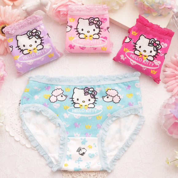 4pcs/lot Cute underwear
