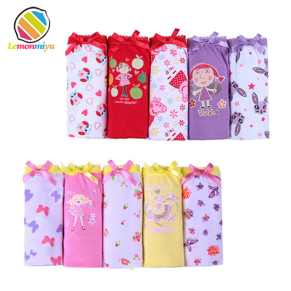 5pcs/set cotton Panties