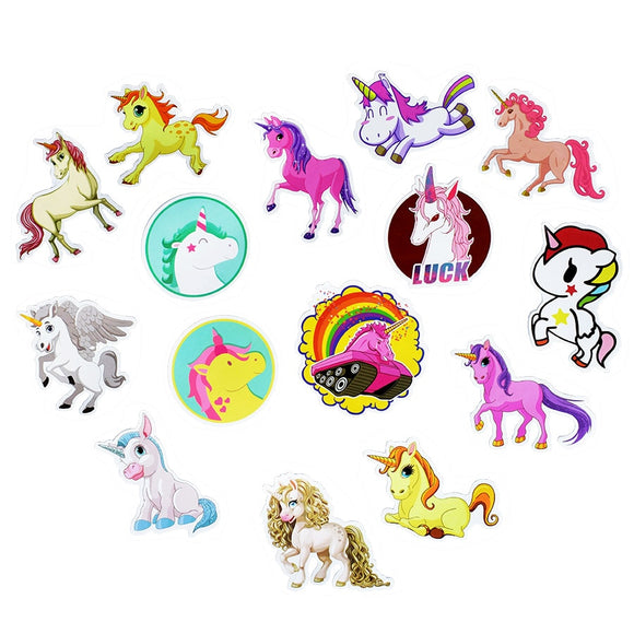 30Pcs Mixed Unicorn