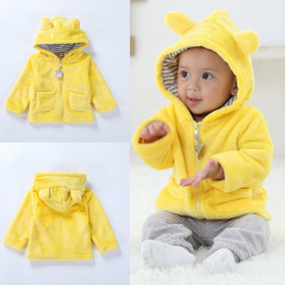 cub hooded coat