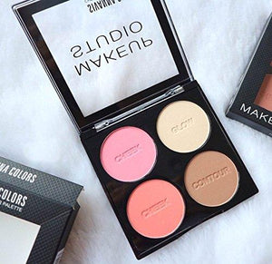 Sivanna Colors Cheek & Contour Palette
