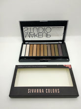 Load image into Gallery viewer, Sivanna Colors Makeup Studio Deluxe Eyeshadow Kit
