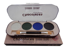 Load image into Gallery viewer, A Sivanna colors  Choclate Eyeshadow