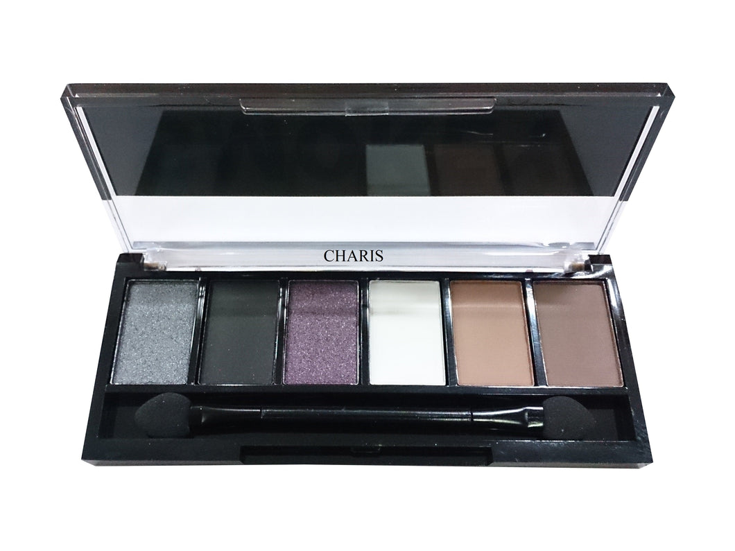Sivanna Colors Semi Matte Eyeshadow kit (Smokey Naked Natural Pink Brown)