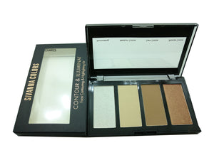 Sivanna Colors Contour & Illuminat Palette