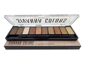 A Sivanna colors Luxury Velvet Eyeshadow Kit