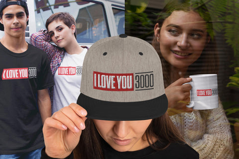 I Love You 3000 Apparel & Merch