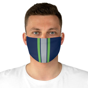 Seattle Football Home Stripe Face Mask