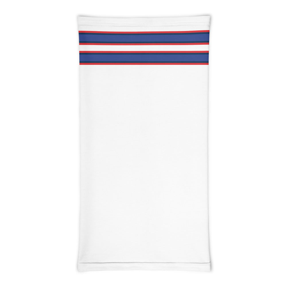 Buffalo Bills Style Neck Gaiter Tube Flat Front