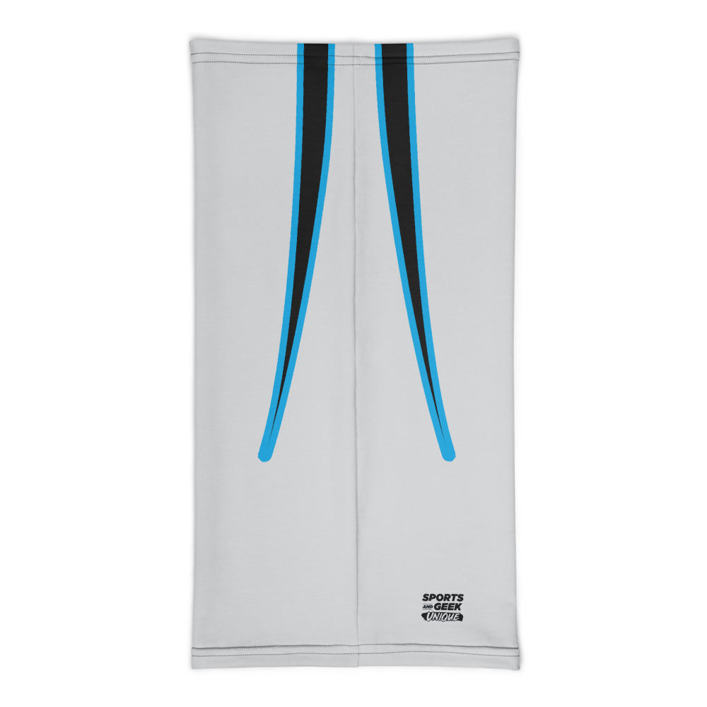 Carolina Panthers Style Neck Gaiter Tube Flat Back
