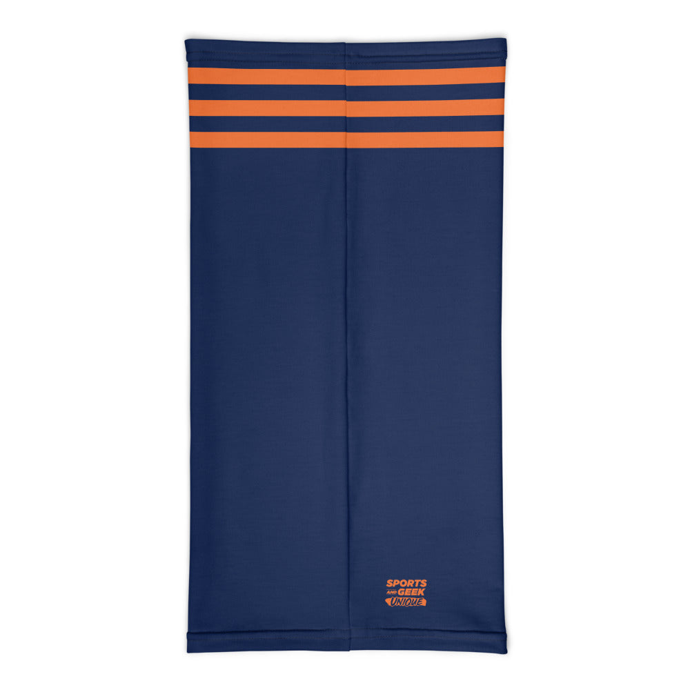 Chicago Bears Style Neck Gaiter Tube Flat Back
