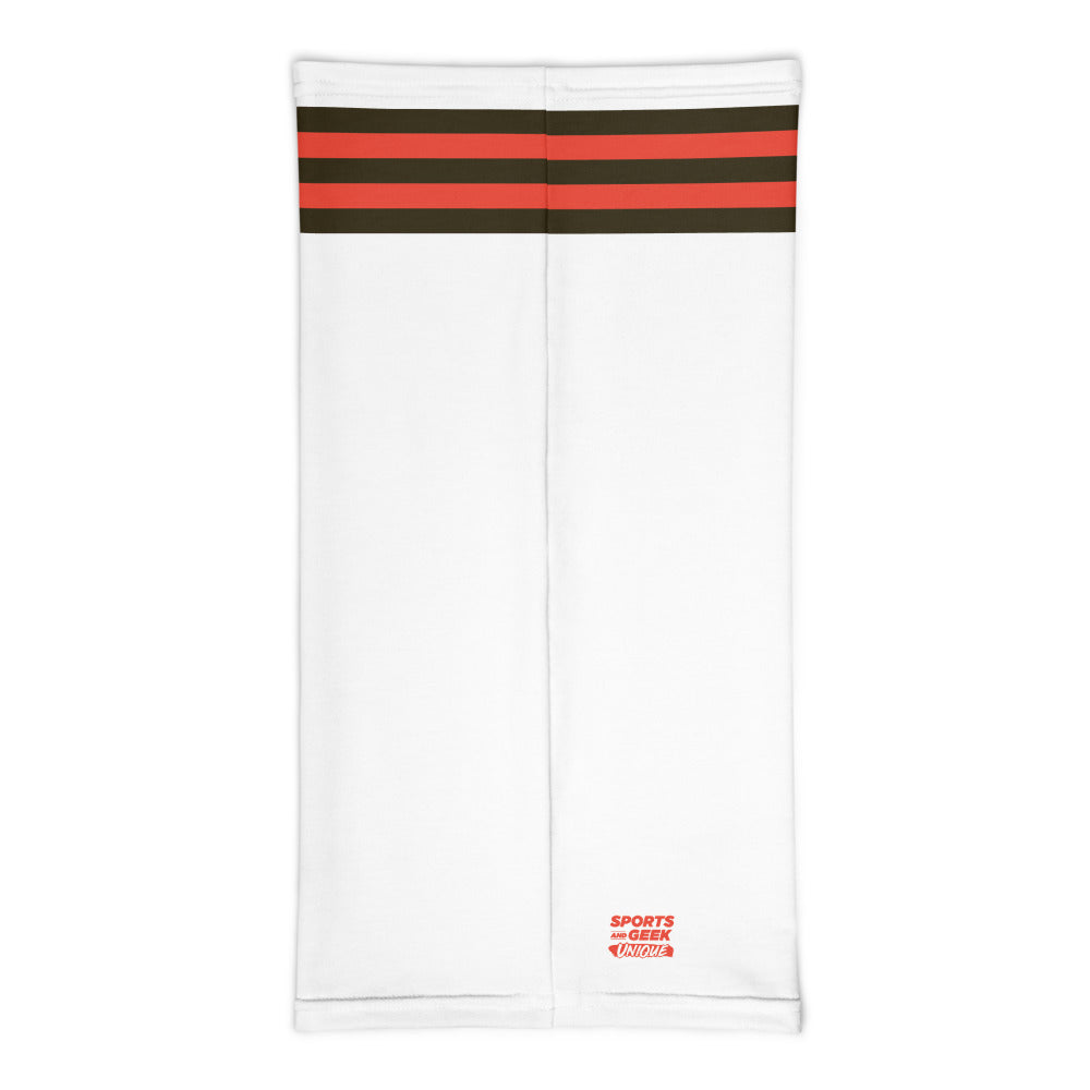 Load image into Gallery viewer, Cleveland Browns Style Neck Gaiter Tube Flat Back